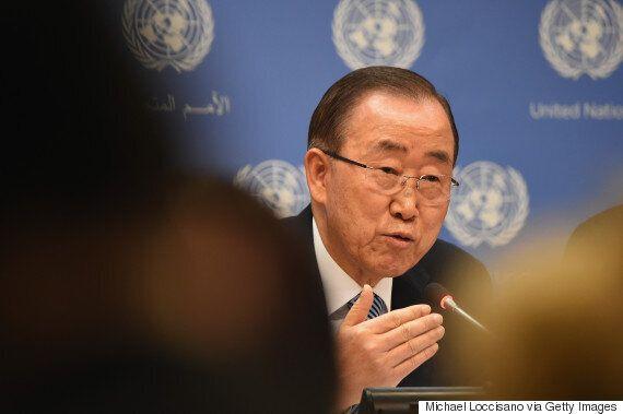 반기문이 유엔 기자들 앞에서 '한국 국민이 원하는 리더십'과 '한국 사회의 과제'를