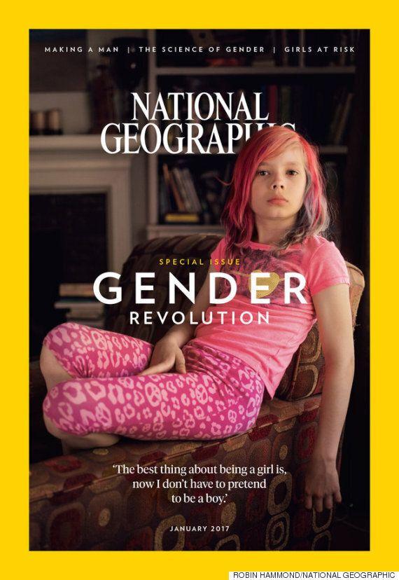 내셔널 지오그래픽 역사상 최초로 표지를 장식한 트랜스젠더는