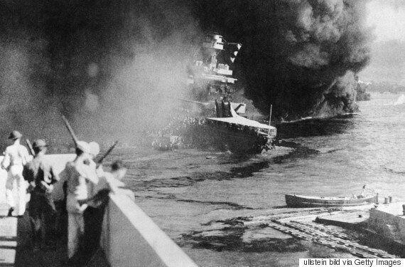 사진으로 보는 75년 전 , 일본군의 진주만 공습