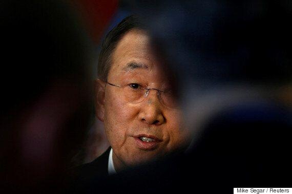 반기문이 유엔 대변인을 통해 '내 이름 팔고 다니지 말라'는 입장을
