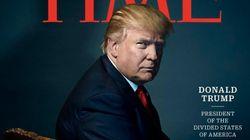 도널드 트럼프가 타임지 '올해의 인물'로