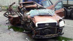 경찰이 일가족 4명이 사망한 부산 싼타페 사건을 운전자 과실로 판단한 까닭은 어처구니가