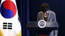 박근혜 대통령은 끝내 즉각 퇴진을