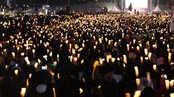 촛불집회가 막은