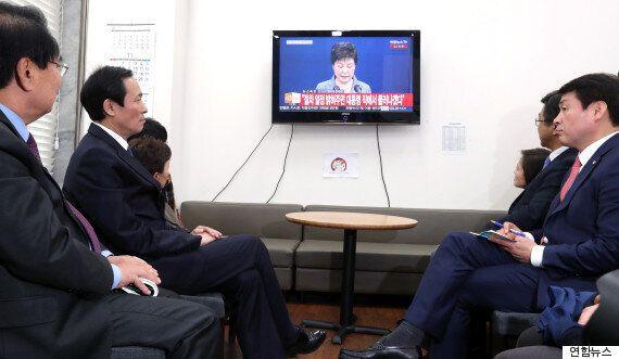 박 대통령의 절묘한 '임기 단축' 승부수가 '비박'을 흔들기