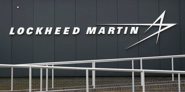 A sign at the new Lockheed Martin Manufacturing Centre of Excellence is seen at the company's headquarters...