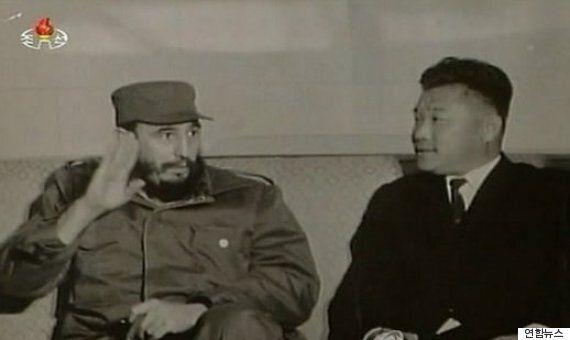 북한이 피델 카스트로의 죽음에 국가적 애도를