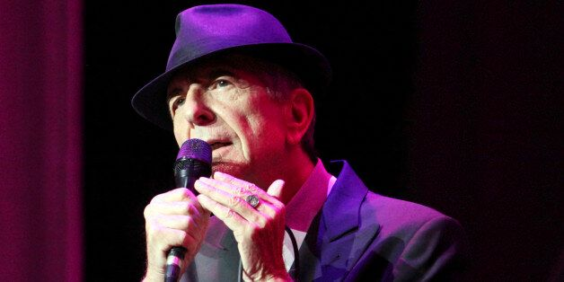 CORRECTS DATE OF STATEMENT- In this March 22, 2013 file photo, Leonard Cohen performs on the Old Ideas...