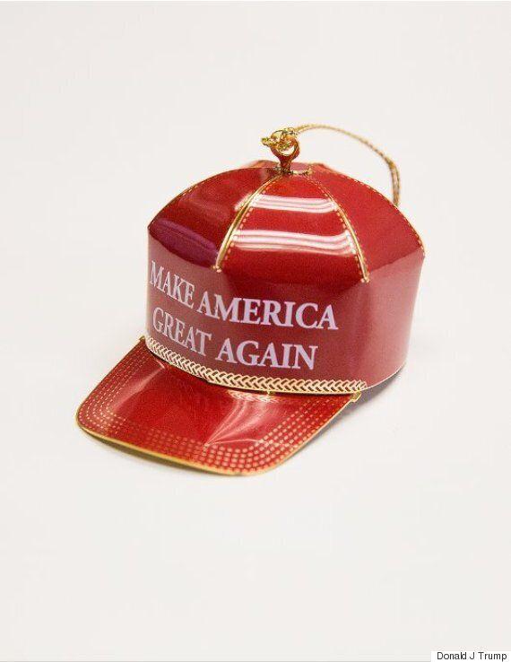 트럼프가 판매하는 크리스마스트리 장식품은 왠지 새마을운동을