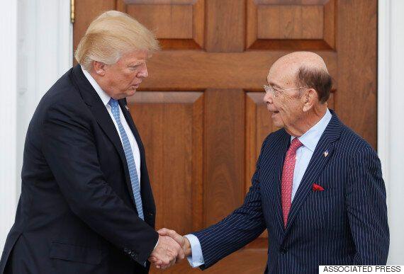도널드 트럼프가 상무장관에 '기업사냥꾼'으로 유명한 억만장자 투자자 윌버 로스를 지명할