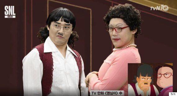 'SNL' 권혁수, 이번에는 영심이다...싱크로율