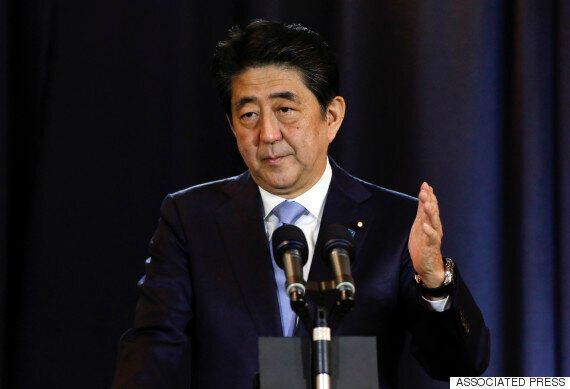 후쿠시마 또 7.4 지진....외국 방문중이던 아베 기민한