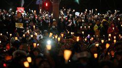 촛불집회 인파 속에는 새누리당도