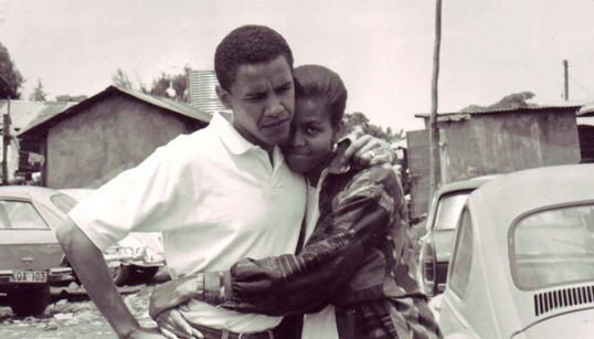 버락·미셸 오바마 부부의 사랑을 담은 순간들 34