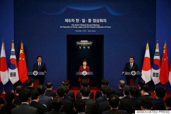 박근혜 탄핵 때문에 다음달 한중일 정상회의도 무산될 가능성이