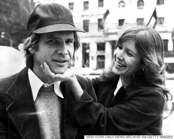 스타워즈 촬영 당시 해리슨 포드와 '뜨거운 열애'가 있었다고 캐리 피셔가