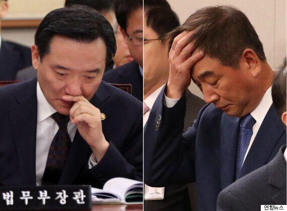 물러나겠다는 최재경·김현웅을 청와대가 붙잡느라 안간힘을 쓰고