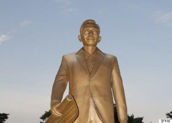 박정희 동상에 낙서한 고등학생이 경찰에 밝힌 범행