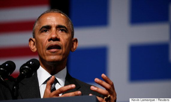 임기가 두 달밖에 안 남은 버락 오바마 대통령의 지지율이 57%로