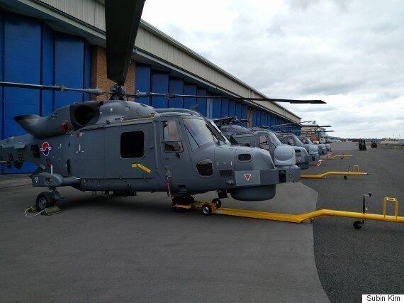 예비역 해군 4성 장군이 '와일드캣' 헬기 도입 관련 뇌물수수로 실형을