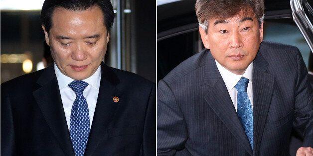 박근혜 대통령이 김현웅 법무부 장관의 사표를