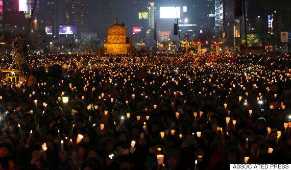 청와대는 오늘 촛불집회에 대해