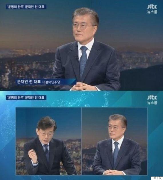 [美친시청률] '뉴스룸', 시청률 8%대 재진입..문재인 효과