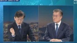 JTBC '뉴스룸'의 시청률이 하룻밤 새 3%가량