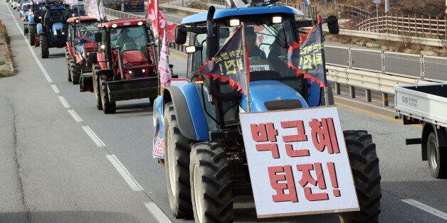 법원이 '분노의 트랙터'를 시위를