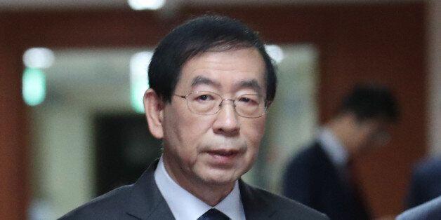 박원순 서울시장이 국무회의서 총리-장관 총사퇴를