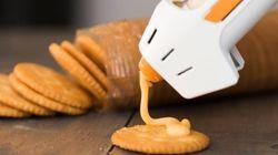 '치즈 덕후'들을 위한, 간편한 '치즈 건'이 개발됐다