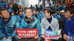 탄핵 정국으로 민주당 내의 대선 경선 시계는