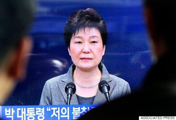 박근혜 대국민담화가 끝나기 무섭게 새누리당이 야당에 '탄핵 일정 재검토'를