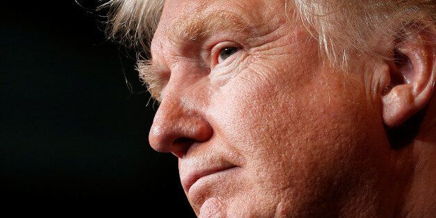 Republican presidential nominee Donald Trump holds a campaign event in Eau Claire, Wisconsin U.S. November...