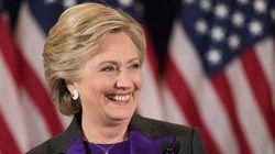 누군가 힐러리 클린턴에게 장미 1,200송이를
