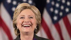 힐러리 클린턴은 대선 다음 날 어떤 일을
