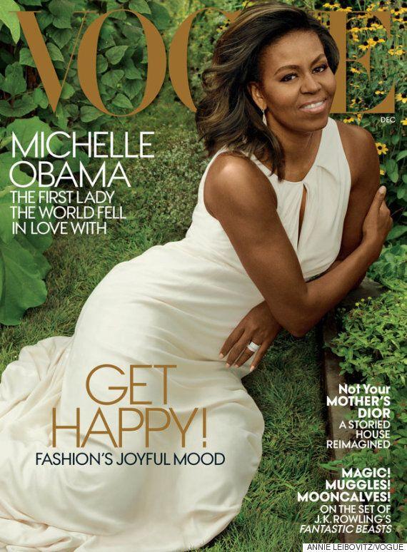 미셸 오바마가 영부인으로서는 마지막으로 '보그'의 커버를