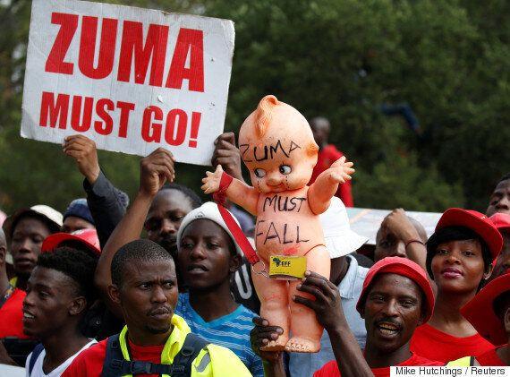 남아공 대통령 '비선 재벌실세' 의혹에 하야 요구