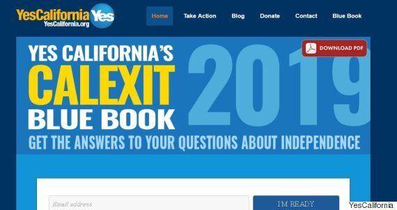 캘리포니아에서 진지하게 독립을 추진하는 '캘렉시트' 운동이 일고