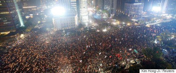 법원이 허용했다. 민중총궐기는 청와대 인근까지