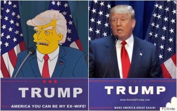 20년 전 '심슨 가족' 속 트럼프 대통령은 임기를 어떻게 마쳤을까?