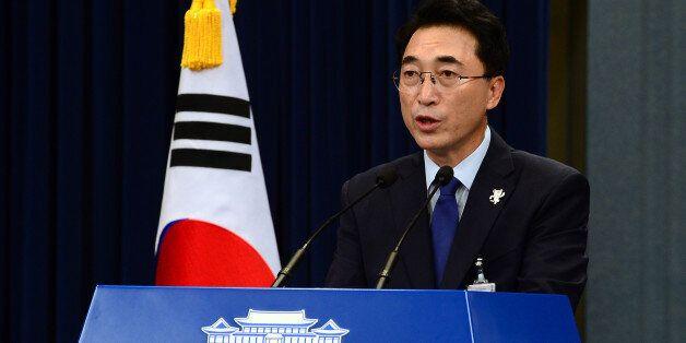 박수현 대변인이 수능 당일, 문대통령의 심경을