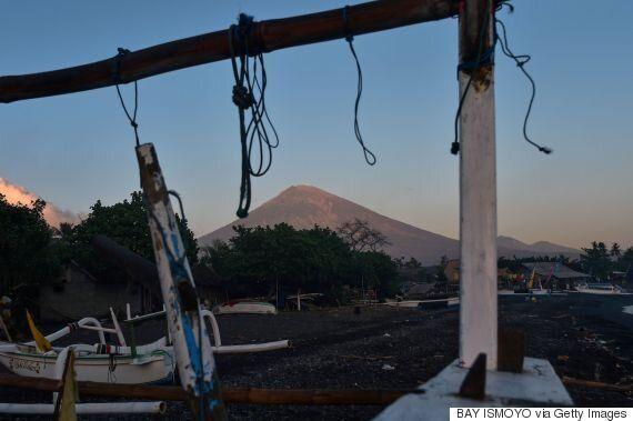 인도네시아 발리 화산 분화 위험에 7만5천명이