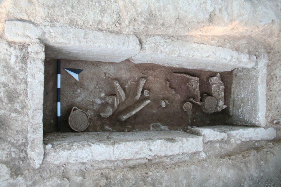 Κιβωτιόσχημος τάφος στην περιοχή Μερκούρη (πρώιμη ελληνιστική