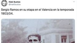 El increíble parecido de Sergio Ramos con un atleta de los años 20 impresiona en