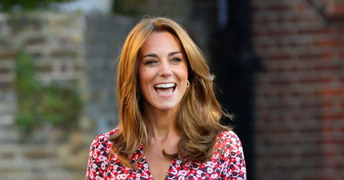 Kate Middleton Recycles Dress For Charlotte's First Day Of School