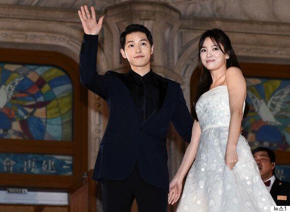 송혜교와 송중기가 직접 결혼 소감을
