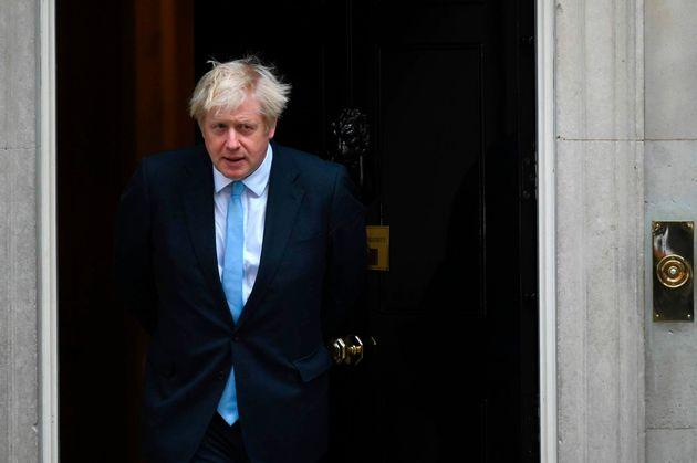 Boris Johnson en Downing