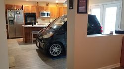 Florida Man Parks Smart Car In Kitchen So It Won't Blow