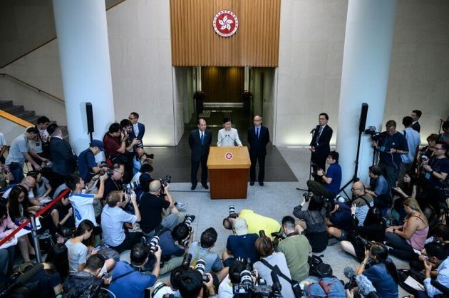Hong Kong Chief Executive Carrie Lam insisted her decision to withdraw the bill was hers alone and that...